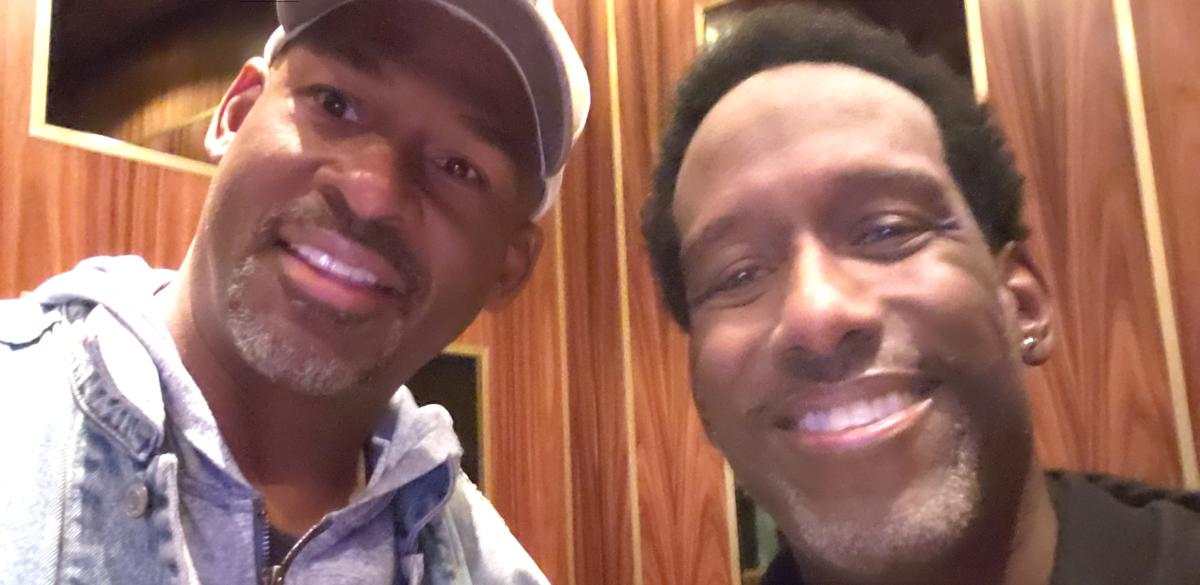 MC n Shawn Stockman of Boyz II Men