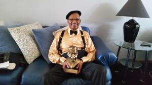 2018 Thurgood Marshall recipient MC Burton Jr.  Congrats Dad!