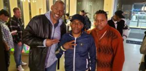 MC, rapper Coolio & guitarist Nenja