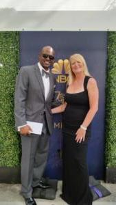 MC n Wife Sarah at Emmys
